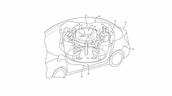 Ford Invented A Wonderful Table With Airbag